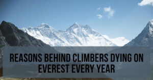 reasons behind the deaths on mt everest